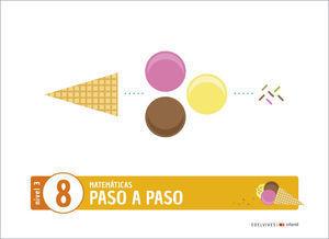 3EI PASO A PASO CUADERNO 8 NIVEL 3 EDELVIVES 2020