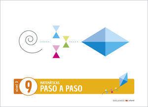 3EI PASO A PASO CUADERNO 9 NIVEL 3 EDELVIVES 2020