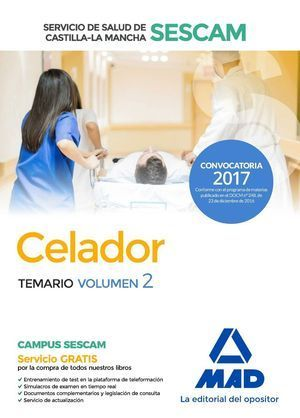 CELADOR SESCAM 2017 TEMARIO II MAD