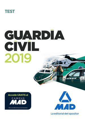 GUARDIA CIVIL 2019. TEST