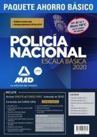 COMPRA ANTICIPADA PAQUETE AHORRO BÁSICO ESCALA BÁSICA POLICÍA NACIONAL 2020. AHORRA 100€