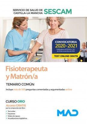 2021 FISIOTERAPEUTA Y MATRÓN SESCAM TEMARIO COMUN MAD