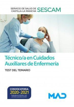 TEST TÉCNICO CUIDADOS AUXILIARES ENFERMERÍA SESCAM 2021