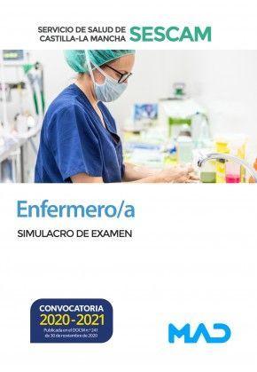 2021 ENFERMERO SESCAM SIMULACRO DE EXAMEN MAD