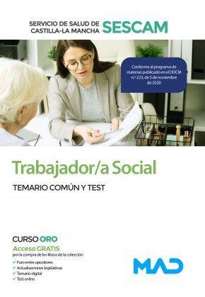 2021 TRABAJADOR SOCIAL SESCAM TEMARIO COMUN Y TEST