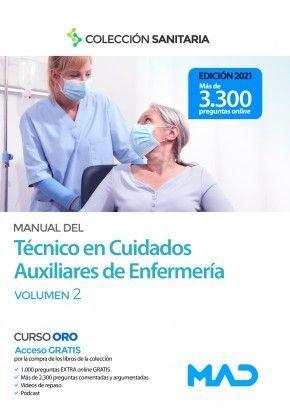 2021TECNICO CUIDADOS AUXILIARES ENFERMERIA. VOLUMEN  II