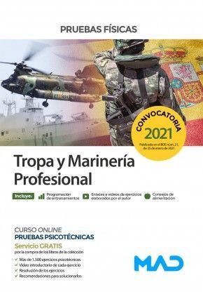 2021 TROPA Y MARINERÍA PROFESIONAL PRUEBAS FÍSICAS MAD