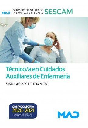2021 SIMULACROS TÉCNICO C. AUXILIARES ENFERMERÍA SESCAM MAD
