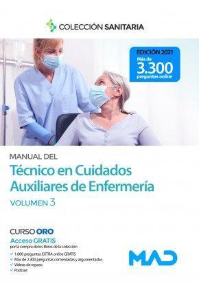MANUAL TECNICO CUIDADOS AUXILIARES  ENFERMERIA  III  2021