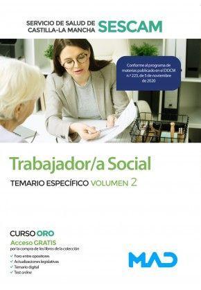 2021 TRABAJADOR SOCIAL SESCAM TEMARIO ESPECÍFICO 2