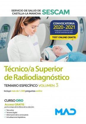 TEMARIO III TÉCNICO SUPERIOR RADIODIAGNÓSTICO SESCAM 2021 MAD