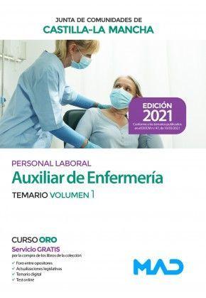 2021 AUXILIAR ENFERMERIA JCCM. VOLUMEN 1 MAD