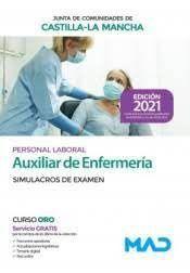 2021 AUXILIAR ENFERMERIA JCCM. SIMULACROS EXAMEN MAD