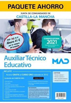 2021 PACK AUXILIAR TECNICO EDUCATIVO JCCM MAD