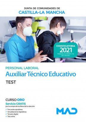 2021 AUXILIAR TECNICO EDUCATIVO JCCM. TEST Y SUPUESTOS PRACTICOS. MAD