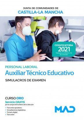 2021 AUXILIAR TECNICO EDUCATIVO JCCM SIMULACROS MAD