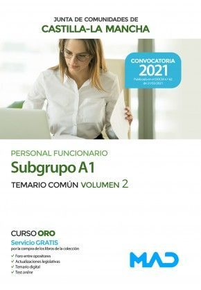 2021 SUBGRUPO A1 JCCM. TEMARIO COMUN II MAD