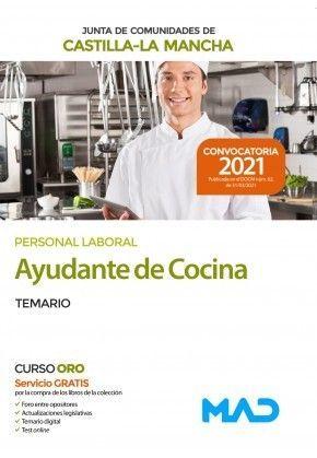 2021 AYUDANTE DE COCINA JCCM TEMARIO MAD
