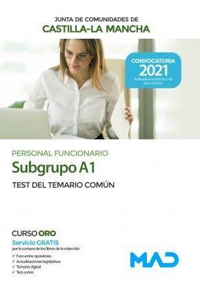 2021 SUBGRUPO A1 JCCM TEST TEMARIO COMUN MAD
