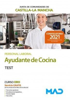 2021 AYUDANTE DE COCINA JCCM TEST MAD