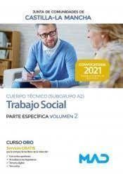 2021 TRABAJO SOCIAL TEMARIO ESPECIFICO 2 JCCM MAD