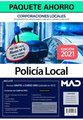 2021 PAQUETE AHORRO POLICIA LOCAL
