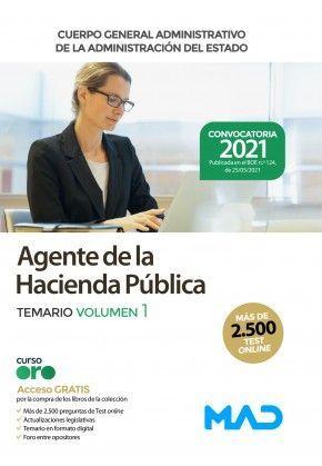 2021 AGENTE DE LA HACIENDA PUBLICA TEMARIO 1. MAD