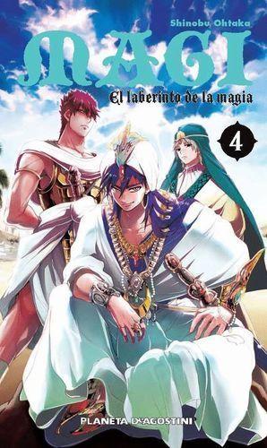 MAGI EL LABERINTO DE LA MAGIA Nº4