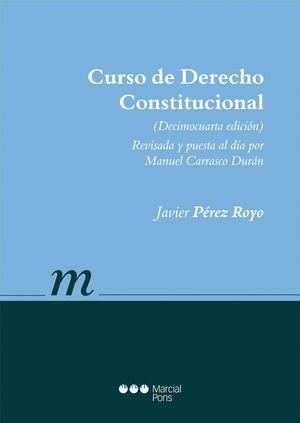 CURSO DE DERECHO CONSTITUCIONAL, 2014