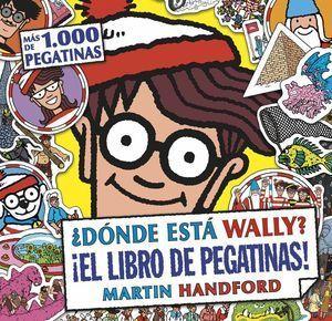 DONDE ESTA WALLY? LIBRO DE PEGATINAS