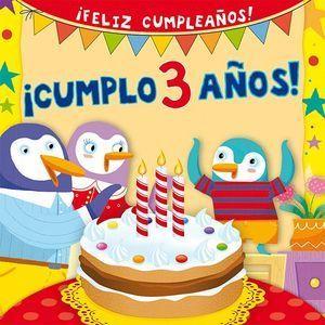 ¡ CUMPLO 3 AÑOS!