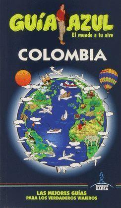 COLOMBIA GUÍA AZUL 2014