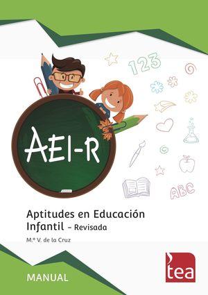 AEI-R APTITUDES EN EDUCACIÓN INFANTIL-REVISADA 2R3800