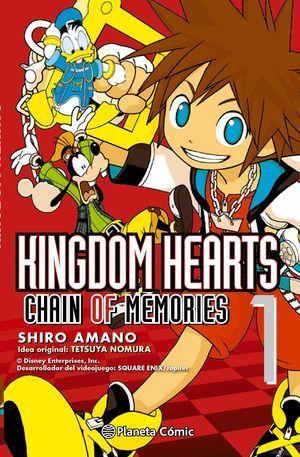 KINGDOM HEARTS CHAIN OF MEMORIES Nº01