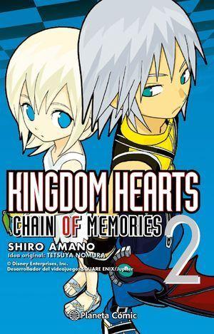 KINGDOM HEARTS CHAIN OF MEMORIES Nº02