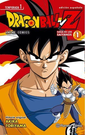 DRAGON BALL Z SAGA SAIYANOS