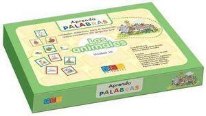 APRENDO PALABRAS 10. LOS ANIMALES