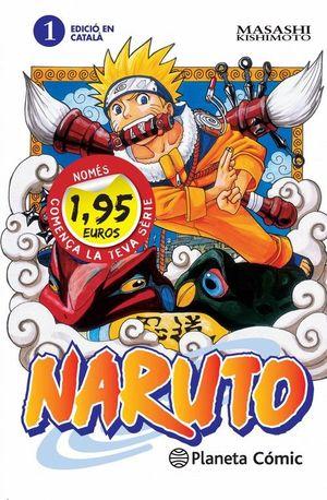MM NARUTO CATALÀ Nº01 1,95