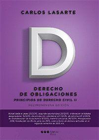 PRINCIPIOS DE DERECHO CIVIL. TOMO II. (19ªED).DERECHO DE OBLIGACIONES