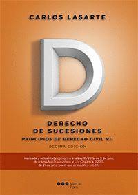 PRINCIPIOS DE DERECHO CIVIL. TOMO VII (10ª ED). DERECHO DE SUCESIONES