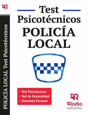 2015 TEST PSICOTÉCNICOS POLICIA LOCAL RODIO