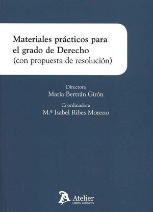 MATERIALES PRÁCTICOS PARA GRADO DE DERECHO