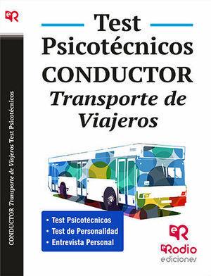 PSICOTÉCNICOS CONDUCTOR TRANSPORTE DE VIAJEROS TEST 2016 RODIO