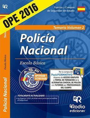 POLICÍA NACIONAL ESCALA BÁSICA PSICOTÉCNICO, ORTOGRAFÍA Y ENTREVISTA PERSONAL 2016 RODIO