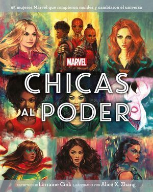 MARVEL. CHICAS AL PODER
