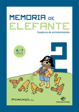 MEMORIA DE ELEFANTE: CUADERNO DE ENTRETENIMIENTO 2