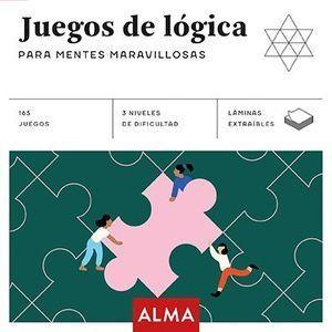 JUEGOS DE LÓGICA PARA MENTES MARAVILLOSAS (CUADRADOS DE DIVERSIÓN)