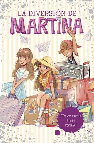 LA DIVERSION DE MARTINA 4 .FIN DE CURSO EN EL PARAÍSO