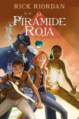 LAS CRÓNICAS DE LOS KANE CÓMIC 1. LA PIRÁMIDE ROJA