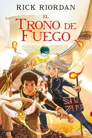 LAS CRÓNICAS DE LOS KANE CÓMIC 2. EL TRONO DE FUEGO